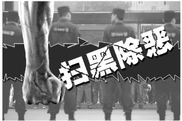 安徽省去年摧毁黑恶团伙1077个