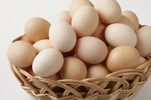 安徽省蛋类价格下降明显