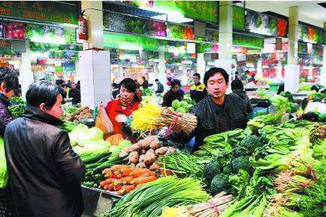 芜湖本周蔬菜价格涨幅放缓呈回落趋势