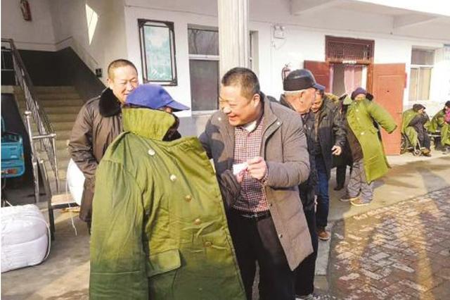 徐广富:热心公益20年 捐助资金200万