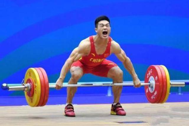 安徽举重选手江滨世界杯摘银