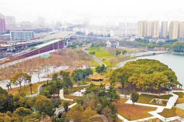 芜湖汀棠公园华丽变身