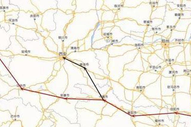 合肥到西安?#22411;?#28155;一条新快速铁路
