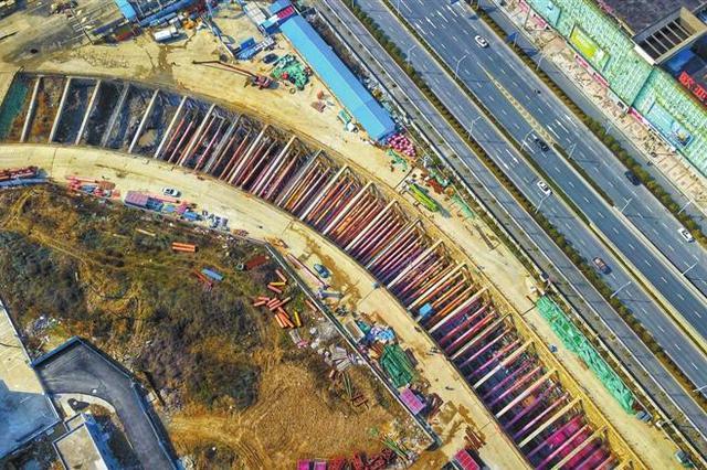芜湖轨道交通建设全面复工 梦溪路站4月底建成