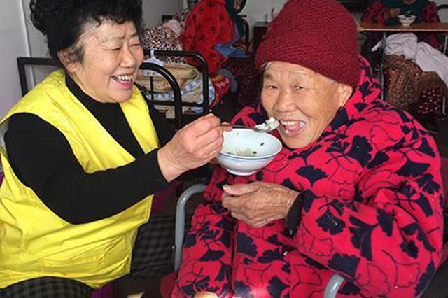 在皖创办养老院19年  台胞把家乡百余名老人当作父母