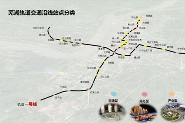 芜湖轨道交通?#26412;?#36335;换乘站开始施工