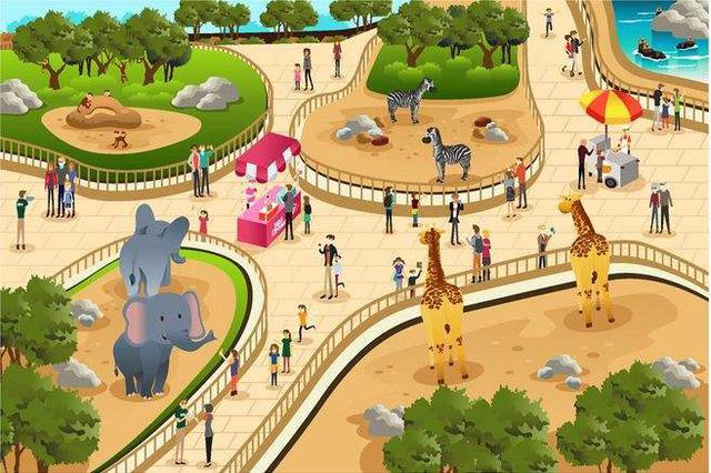安徽合肥游客动物园里拍照 不料手机滑落虎园
