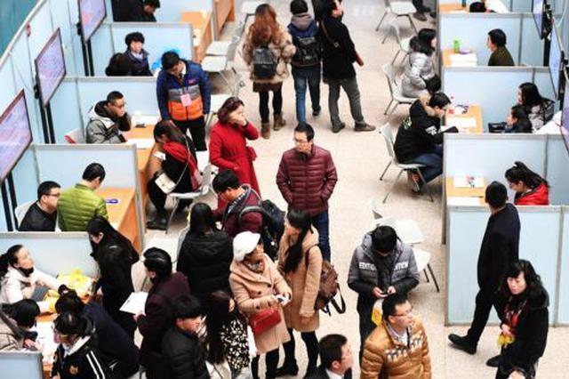 2019安徽就业援助月 共帮助8000多就业困难人?#26412;?#19994;