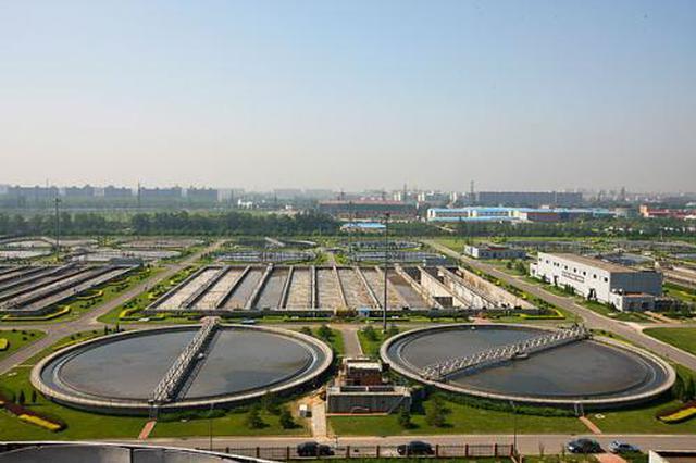 西部组团污水处理厂即将扩建