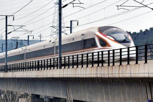 商合杭高铁首条接触网导线架设成功