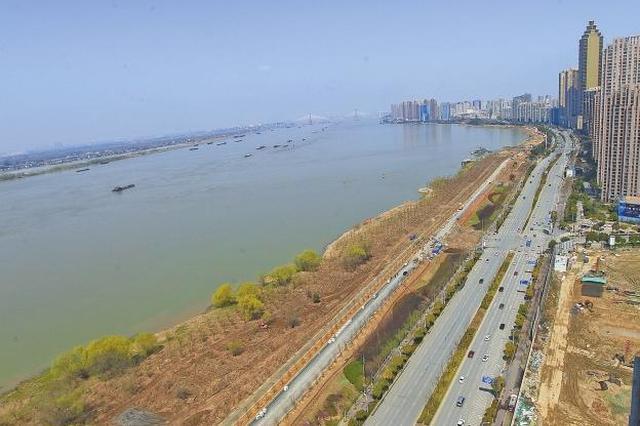 芜湖滨江公园二期下月与市民见面