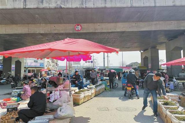 """芜湖弋江桥桥北下的市场管理员""""出口成脏"""""""