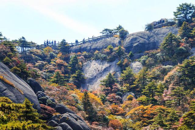 黄山西海大峡谷等景点恢复开放