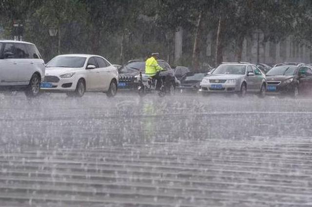 雷暴大风大雨 安徽天气迎来大反转