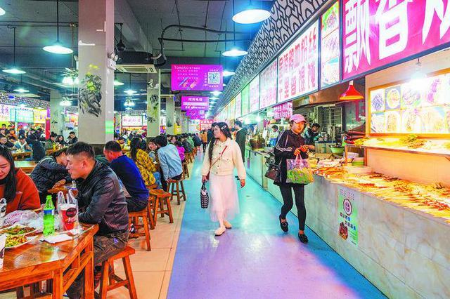 """合肥大学城商业街区""""蝶变""""换新颜"""