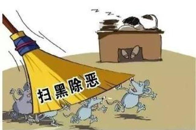 """蚌埠市国土局经开分局扫黑除恶 注重""""四抓"""""""