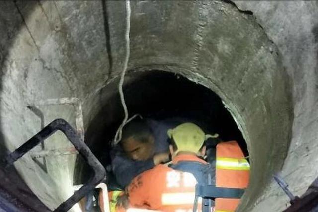 为救两名沼气中毒施工人员 消防员中毒昏迷