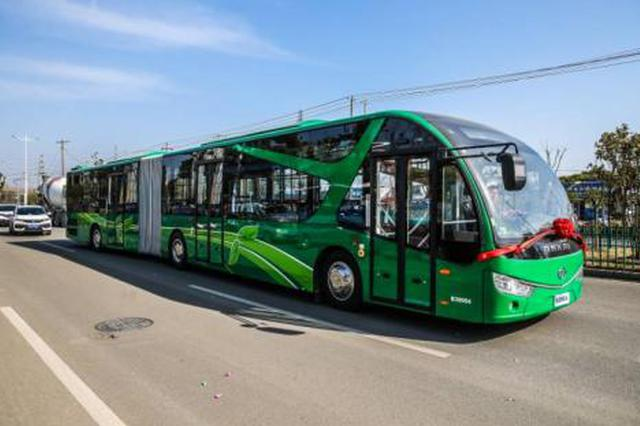 合肥恢复BRT1号线全时段通行徽州大道公交专用道