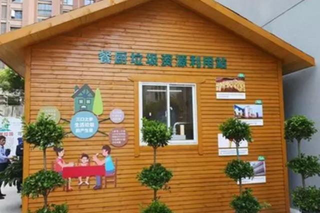 """安徽省首个""""餐厨垃圾社区利用站""""试运行"""