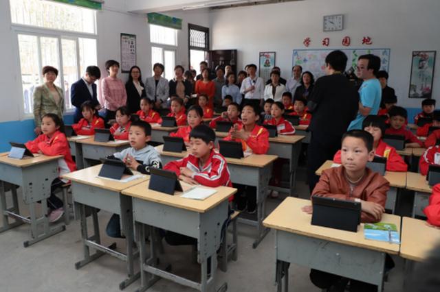 安徽省智慧学校建设现场推进会在金寨举办