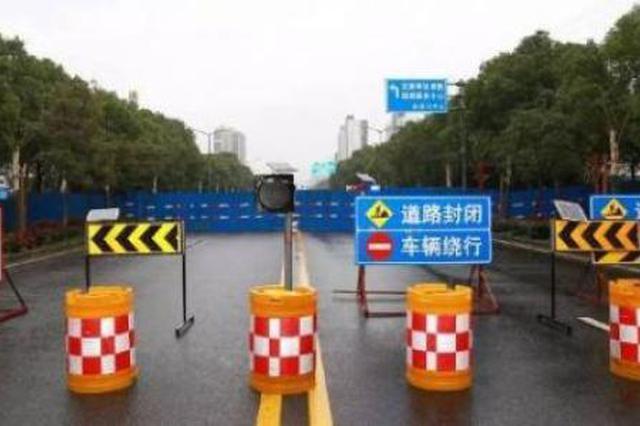 肥西上派镇巢湖路桥昨晚起封闭