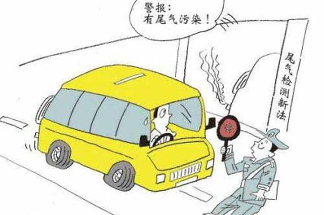 """合肥三大路口 将装备尾气监测""""神器"""""""