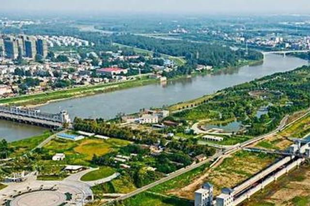 阜城建成区绿地面积达4343.6公顷