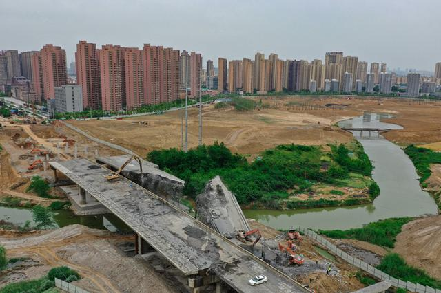 为引江济淮工程让道 肥西县内8座大桥正陆续拆除重建