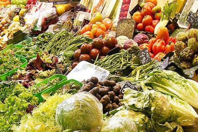 安徽生活必需品价格涨势一片 蔬菜价格上涨迅速