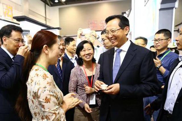 安徽60家茶企亮相中国国际茶叶博览会