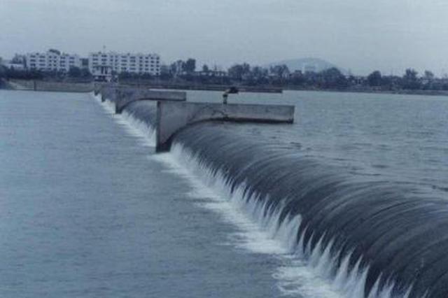 涂山路跃进桥橡皮坝水毁应急实施改造工程完工