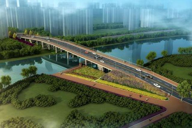 合肥东至路上跨匡河桥开工建设