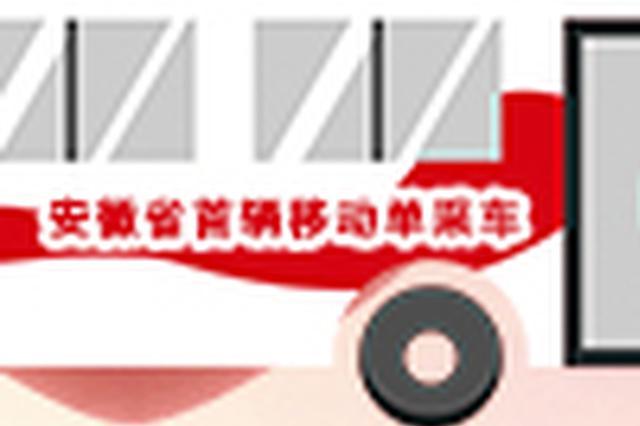 安徽省第一辆移动单采献血车正式启用
