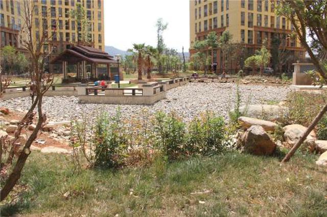 老旧小区改造 增建了地下储水池