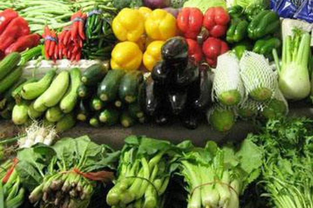 安徽猪肉价格下降明显 蔬菜价格持续走低