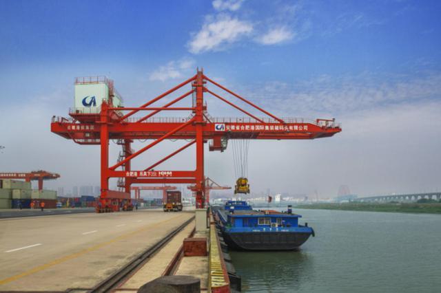 """吞吐量1624万吨 前4个月合肥港口集装箱运输""""加速跑&quo"""