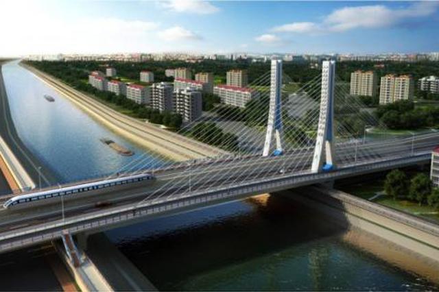 芜湖新中江桥桥梁主体已完工