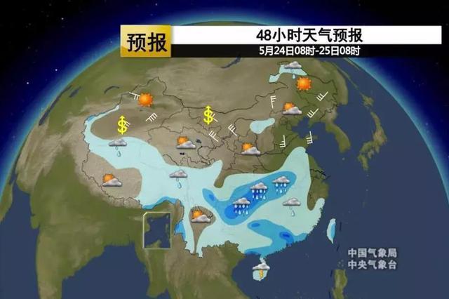 合肥以北多地出现35℃以上高温天气