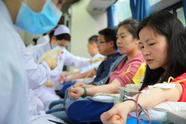 皖去年49万人献血