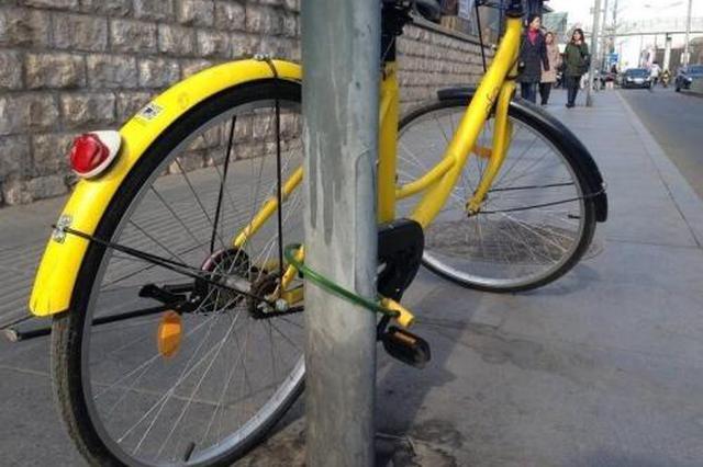"""请不要""""锁住""""共享单车"""