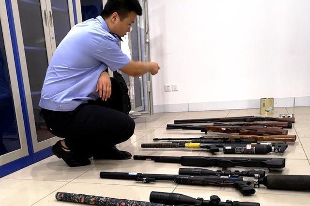 合肥警方破获今年以来安徽省内最大涉枪案 缴获10把枪