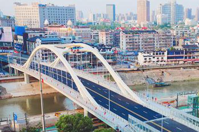 芜湖中江桥8月底有望正式通车