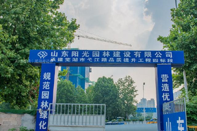 芜湖市区新增一座湿地公园加速建设中