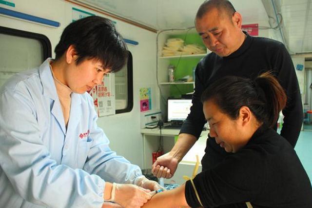 亳州市献血伉俪