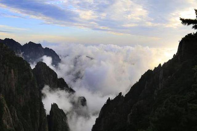 黄山云海 水墨画境