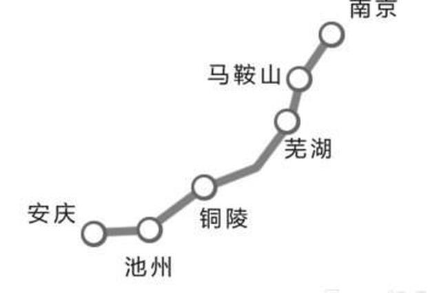 铁路调图后 芜湖到合肥时间缩短了半小时