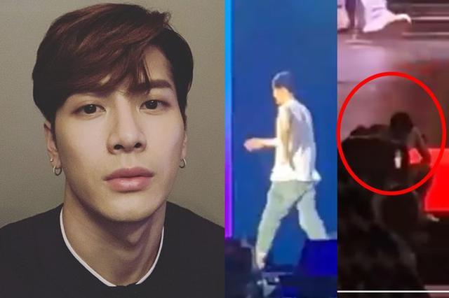 王嘉尔演唱会中途扶腰离场 罹患食物中毒身体欠佳