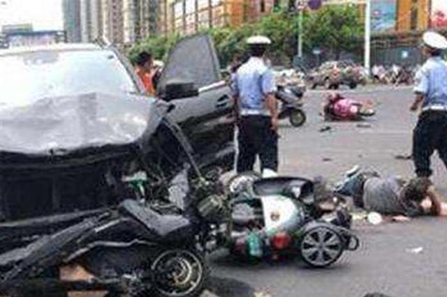 常州奔驰车祸致3死10伤 司机供述:途中出现晕厥