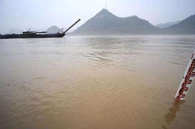 安徽省长江干流水位持续全线上涨