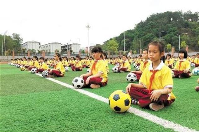 """宿州再添24所""""全国校园足球特色学校"""""""